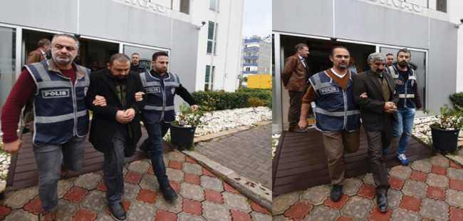 Dolandırıcılar Antalya'da yakalandı