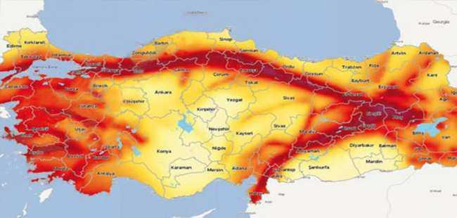 Türkiye'nin deprem haritası 21 yıl sonra yenilendi