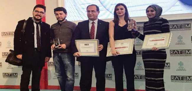 RATEM'den İletişim Fakültesi öğrencilerine iki ödül