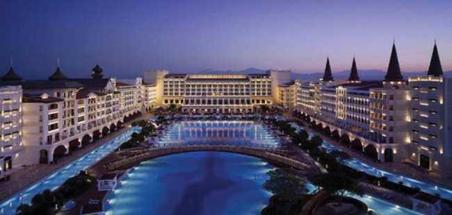 Mardan Palace Hotel'i işleten şirkete iflas kararı