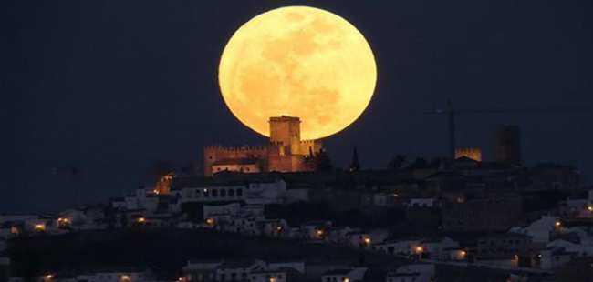 Süper Ay yılbaşı gecesi görülecek