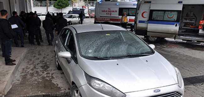 Mersin'de Adliye çıkışı silahlı saldırı