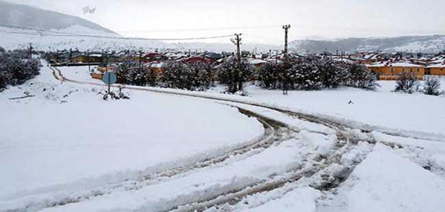 Bingöl'de 70 köy yolu ulaşıma kapandı