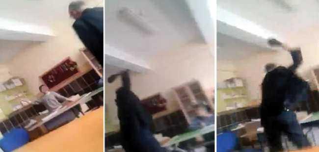 Engelli öğrenciyi döven öğretmen gözaltına alındı