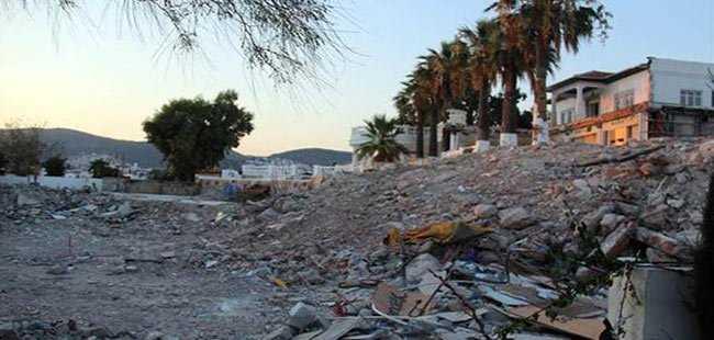 38 yıllık eğlence merkezinin yıkımı tamamlandı