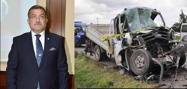 'Her yıl bir ilçe nüfusu, trafik kazası kurbanı'