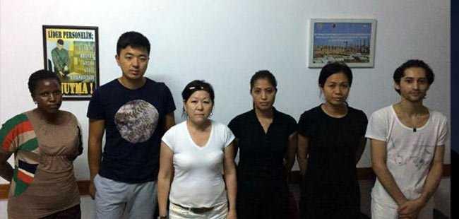 Kaçak çalışan işçiler yakalandı