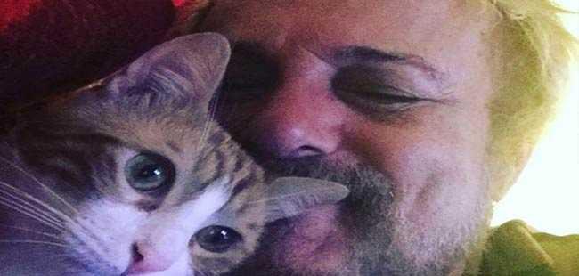 Ünlü şarkıcının kedileri sahipsiz kaldı