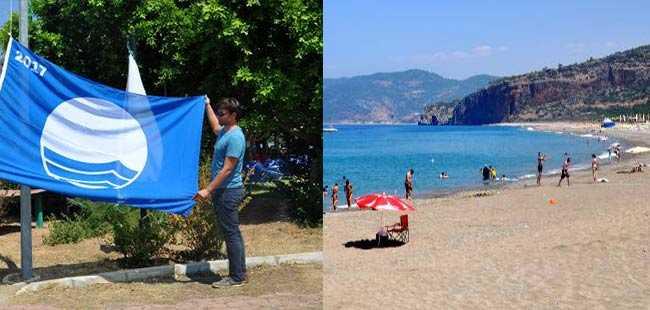 Antalya'nın o plajı artık mavi bayraklı