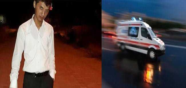 Antalyalı genç trafik kazasında öldü