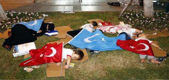 Antalya'da 7'den 70'e 'Demokrasi nöbeti'