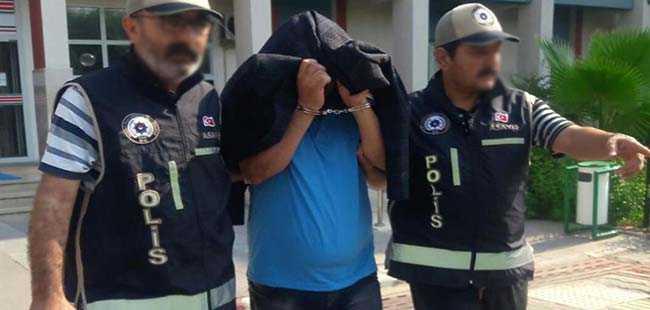 Cani gaspçı 20 yıllık polis çıktı