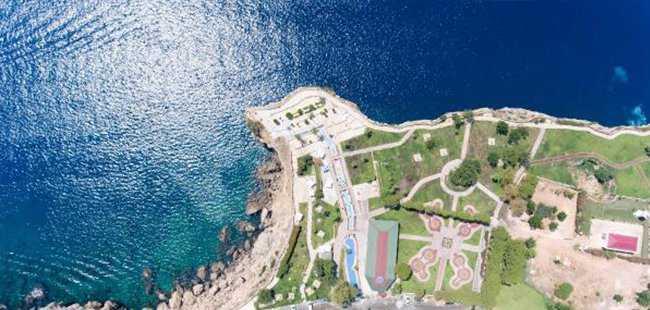 Antalya'nın en güzel kıyı panoraması sunuyor