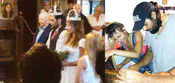 Eski Yunan damat evlendi