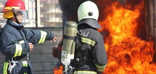 Yangını itfaiyeciler mi çıkarıyor?