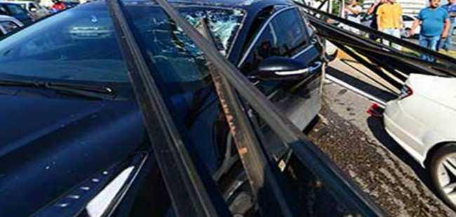 Antalya'da akılalmaz kaza