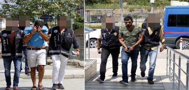 Alanya'da uyuşturucu tacirlerine darbe