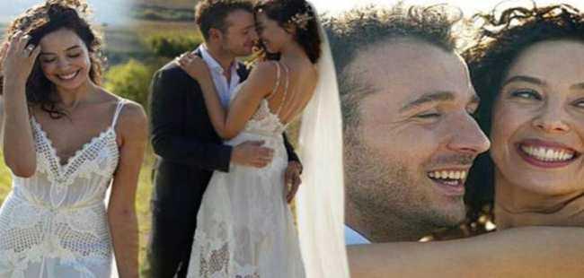 Dünya güzeli evlendi