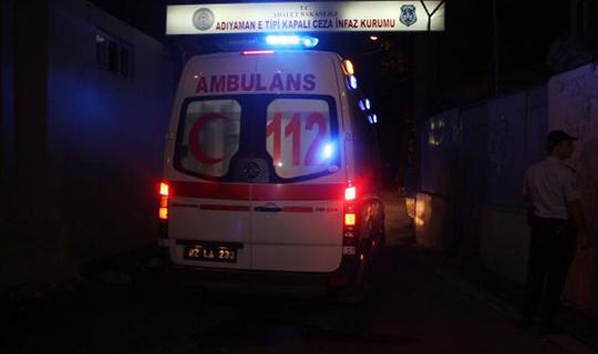 98 mahkum hastaneye kaldırıldı