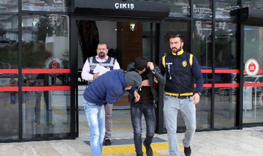 Alanya'da 2 kişi tutuklandı