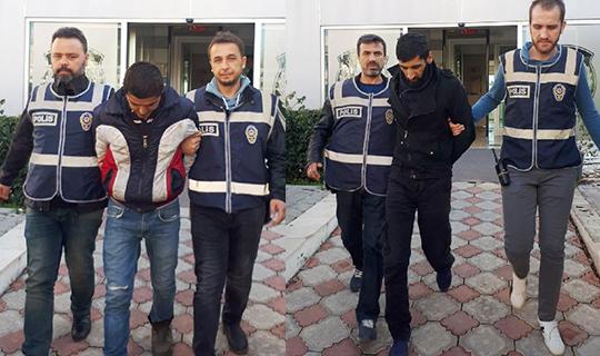 Antalya'da  3 kişi yakalandı