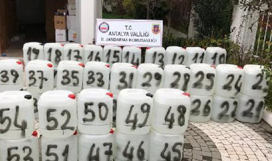 Antalya'da büyük operasyon