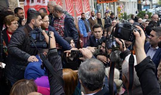 Antalya'da olaylı devir teslim