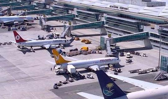 Antalya uçağında inanılmaz olay