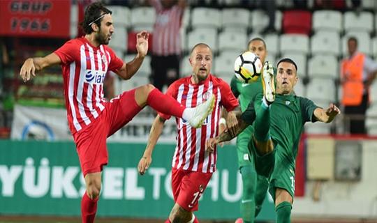 Antalyaspor Akhisarspor berabere kaldı