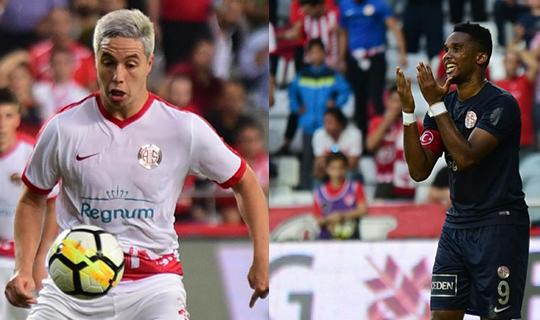 Antalyaspor'da gündem Nasri ve Eto'o