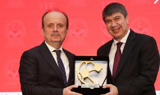 Antalyaspor Tesisleri ödül getirdi