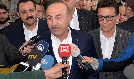 Bakan Çavuşoğlu'ndan ABD'ye eleştiri