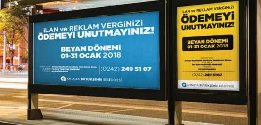 Büyükşehir'den vergi hatırlatması