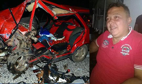 Sürücü'de hayatını kaybetti