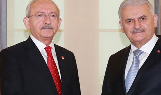 Yıldırım ve Kılıçdaroğlu'ndan ortak açıklama