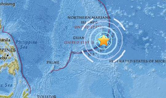 6.0 büyüklüğünde şiddetli deprem oldu