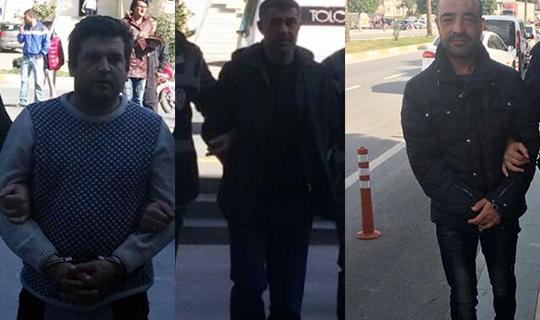 Antalya'da 3 şüpheli tutuklandı
