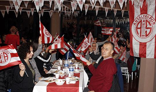ATİK'te Antalyaspor coşkusu