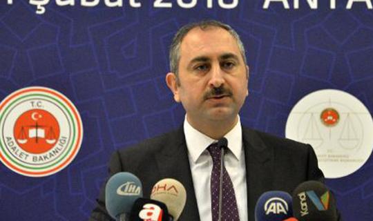 Bakan Gül tutuklu sayısını açıkladı