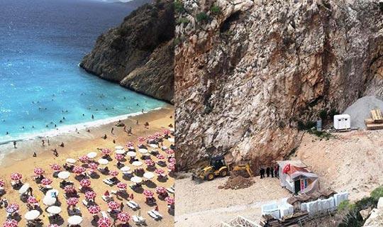 Başkan Kocaer'den Kaputaş Plajı açıklaması
