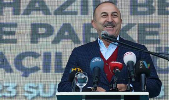 Çavuşoğlu: 'Karşımıza çıkanları ezer geçeriz'