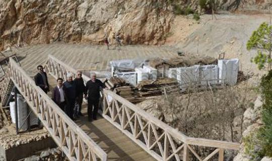 CHP heyeti Kaputaş çalışmasını inceledi
