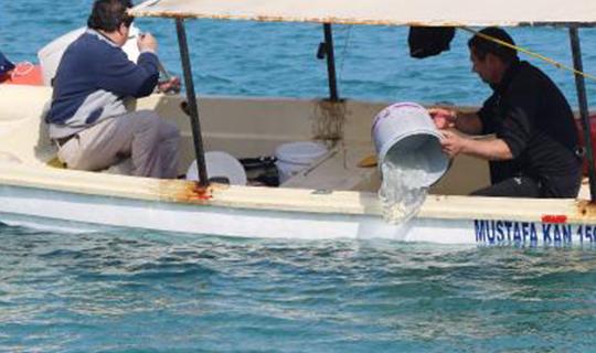 Tekne son anda kurtarıldı