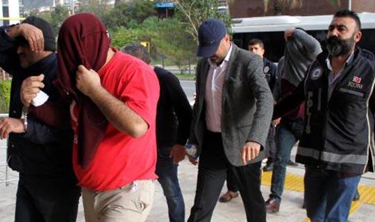 14 kişi tutuklandı