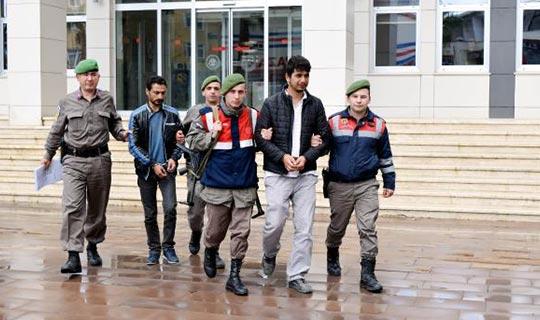 2 şüpheli yakalanıp tutuklandı