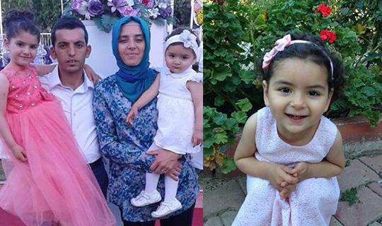4 yaşındaki Beren hayatını kaybetti