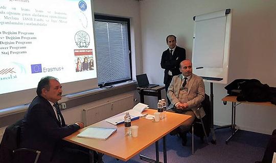 Akdeniz Üniversitesi'nden Danimarka'da tanıtım