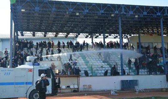 Antalya'da olaylı maç