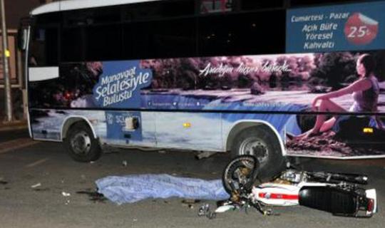 Antalya'da yolcu midibüsü kaza yaptı