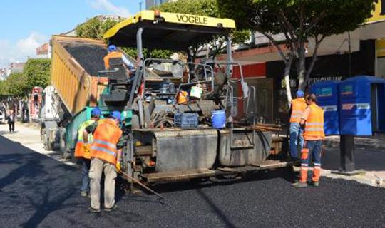Antalya'daki o cadde yenileniyor